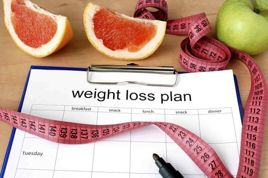 the difficulties encountered on the path of losing weight