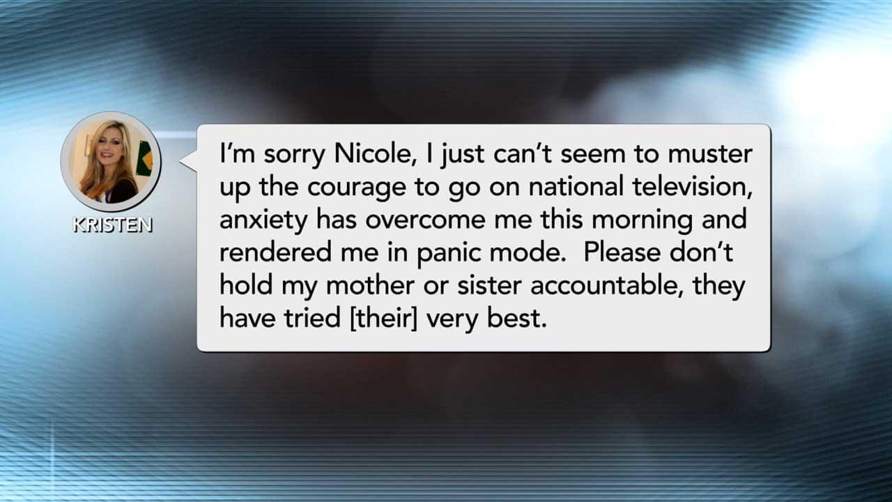 Guest Texts Dr. Phil Producer That She's In 'Panic Mode' And Unable To Appear