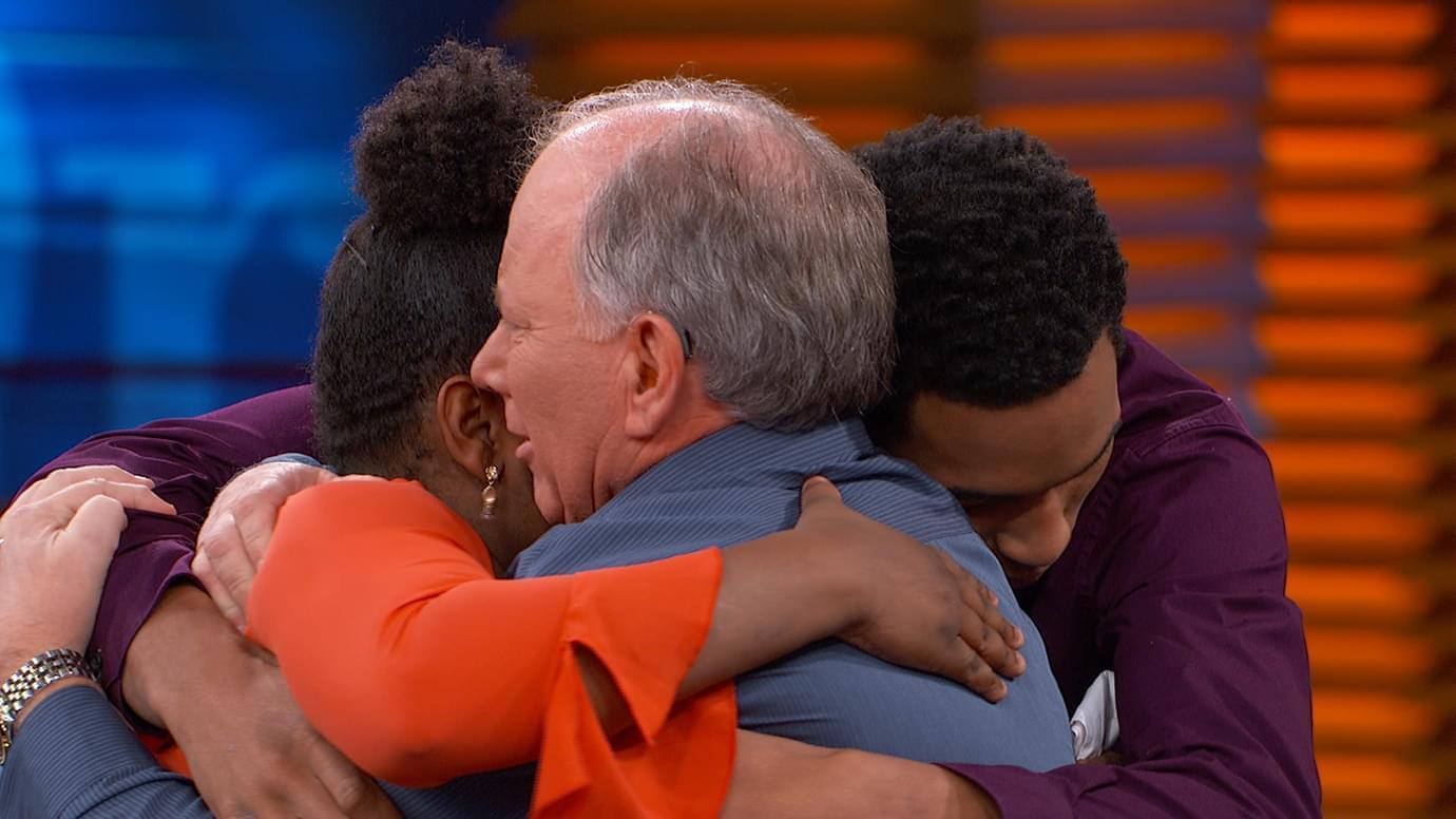 Teens Meet Man Who Helped Save Them From Abusive Parents