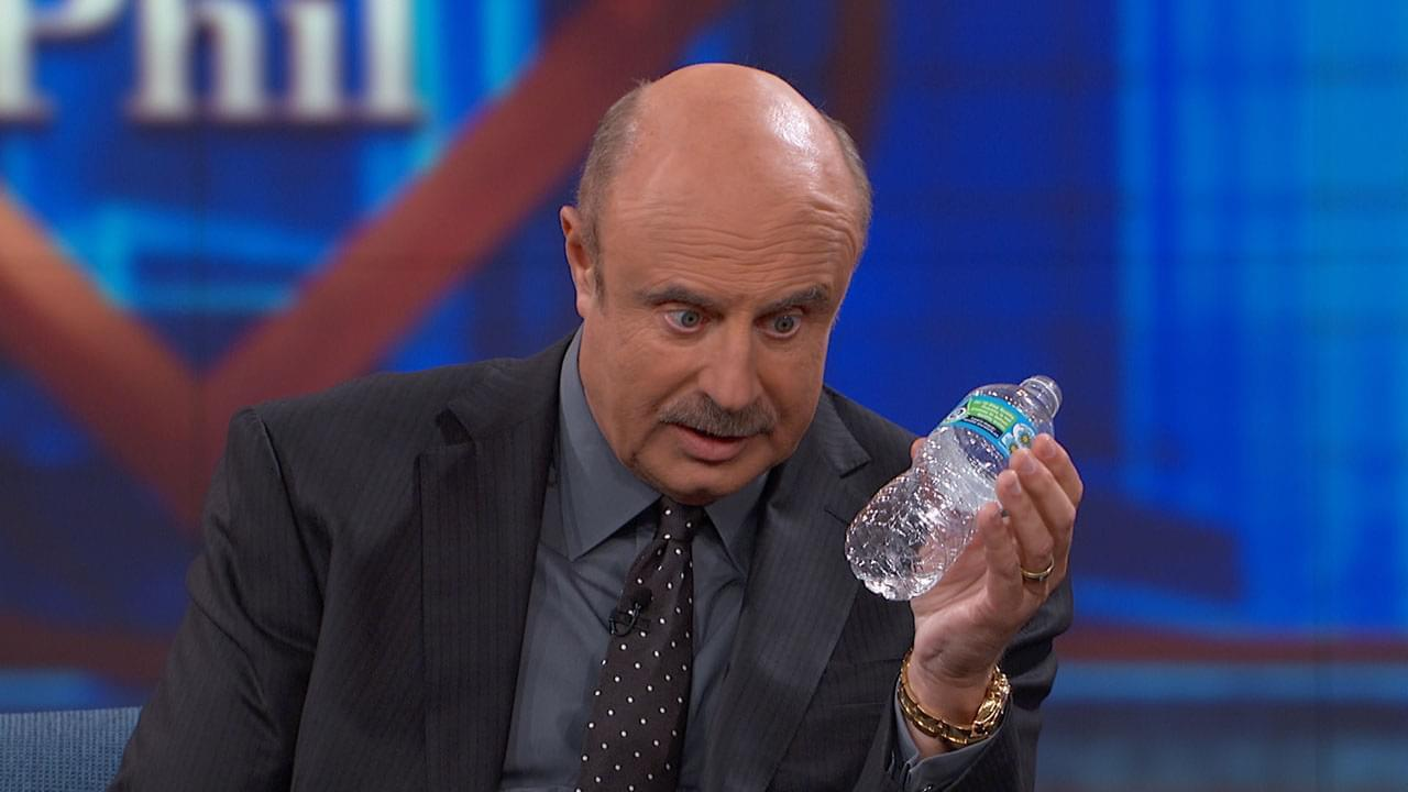 Dr. Phil Confronts Guest With Her Vodka-Filled Water Bottle