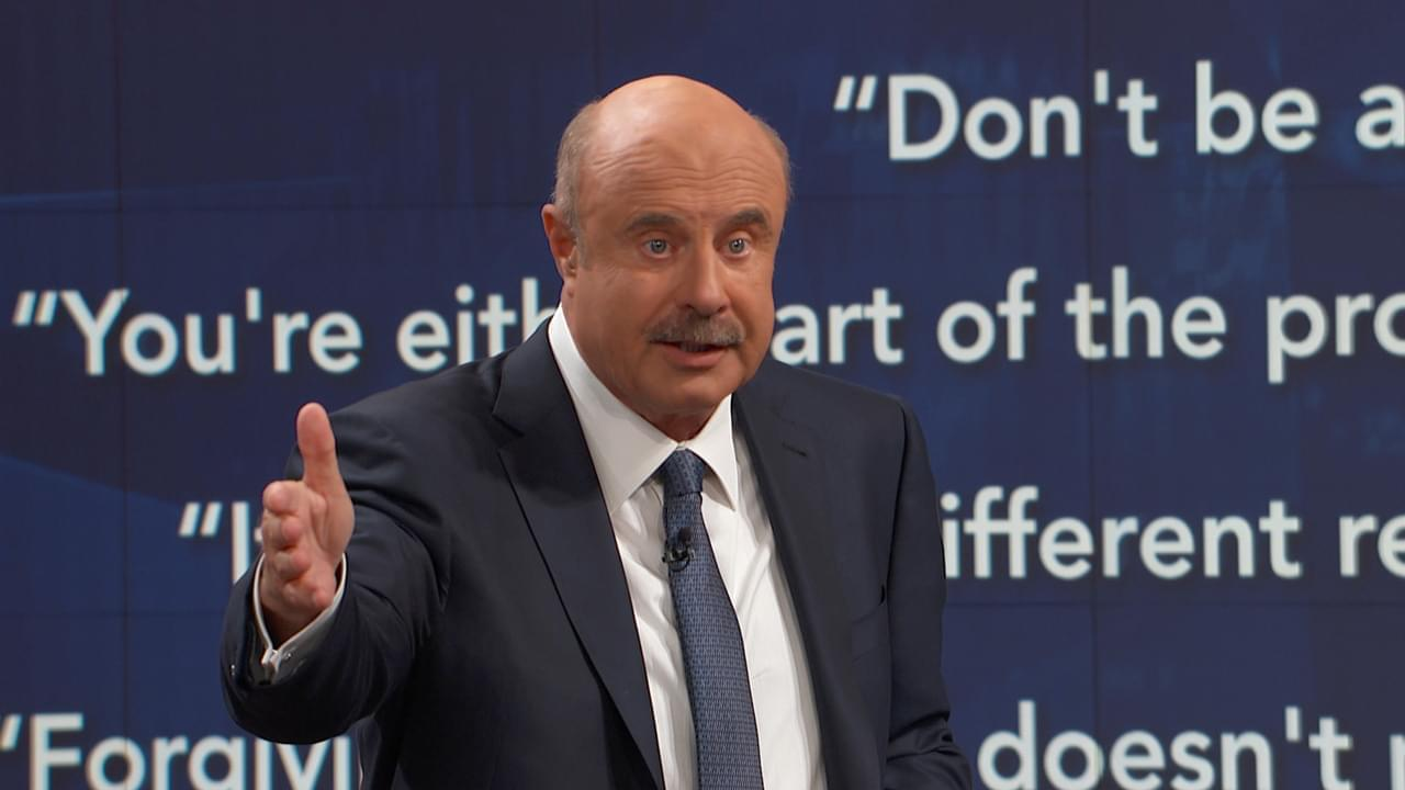Dr. Phil To Dad: 'You Recognize, A Lot Of What You're Doing Here Is Not Working'