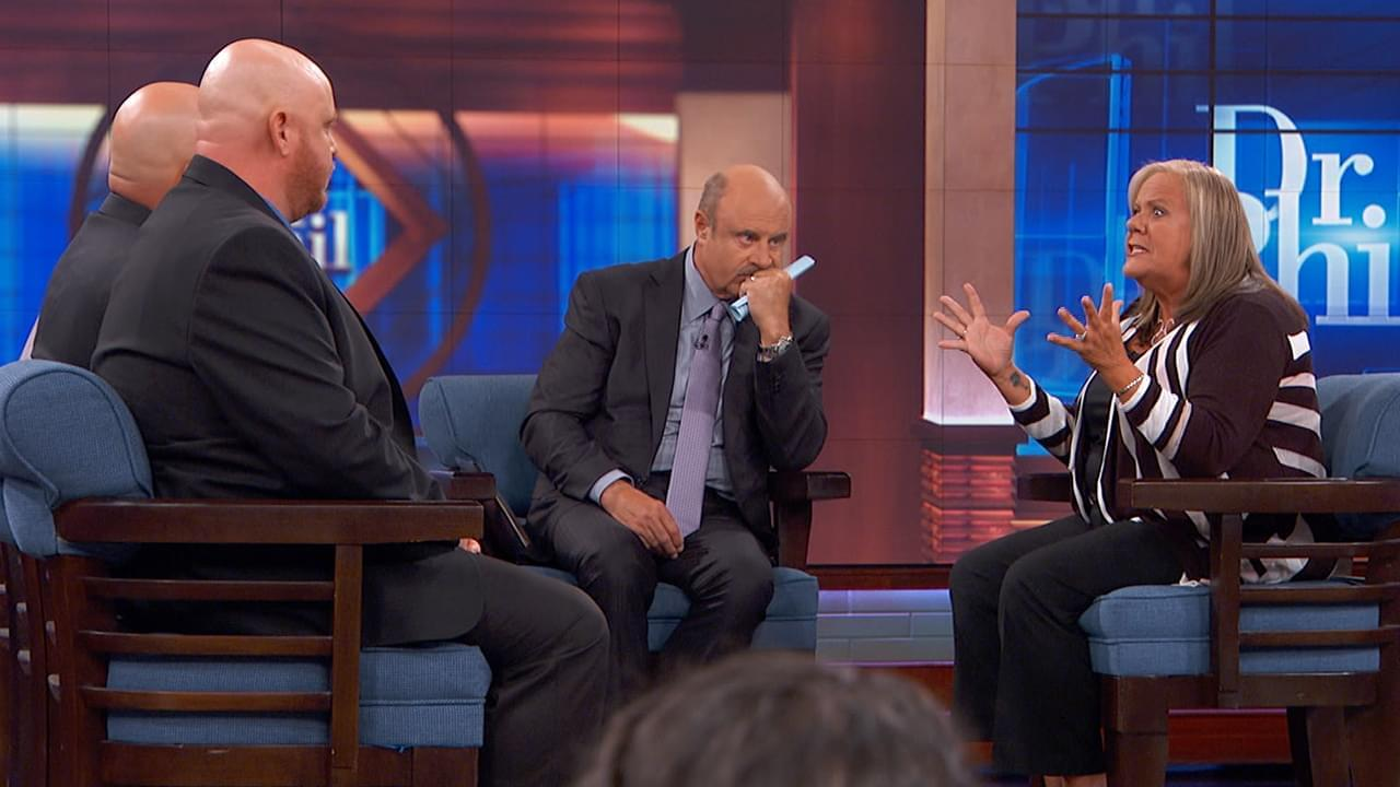 Dr. Phil Questions Woman's Explanations For Why She Left Three Sons When They Were Young