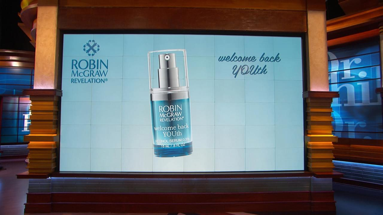 Fight Sun Damage With The Help Of Welcome Back YOUth Retinol Serum From Robin McGraw Revelation