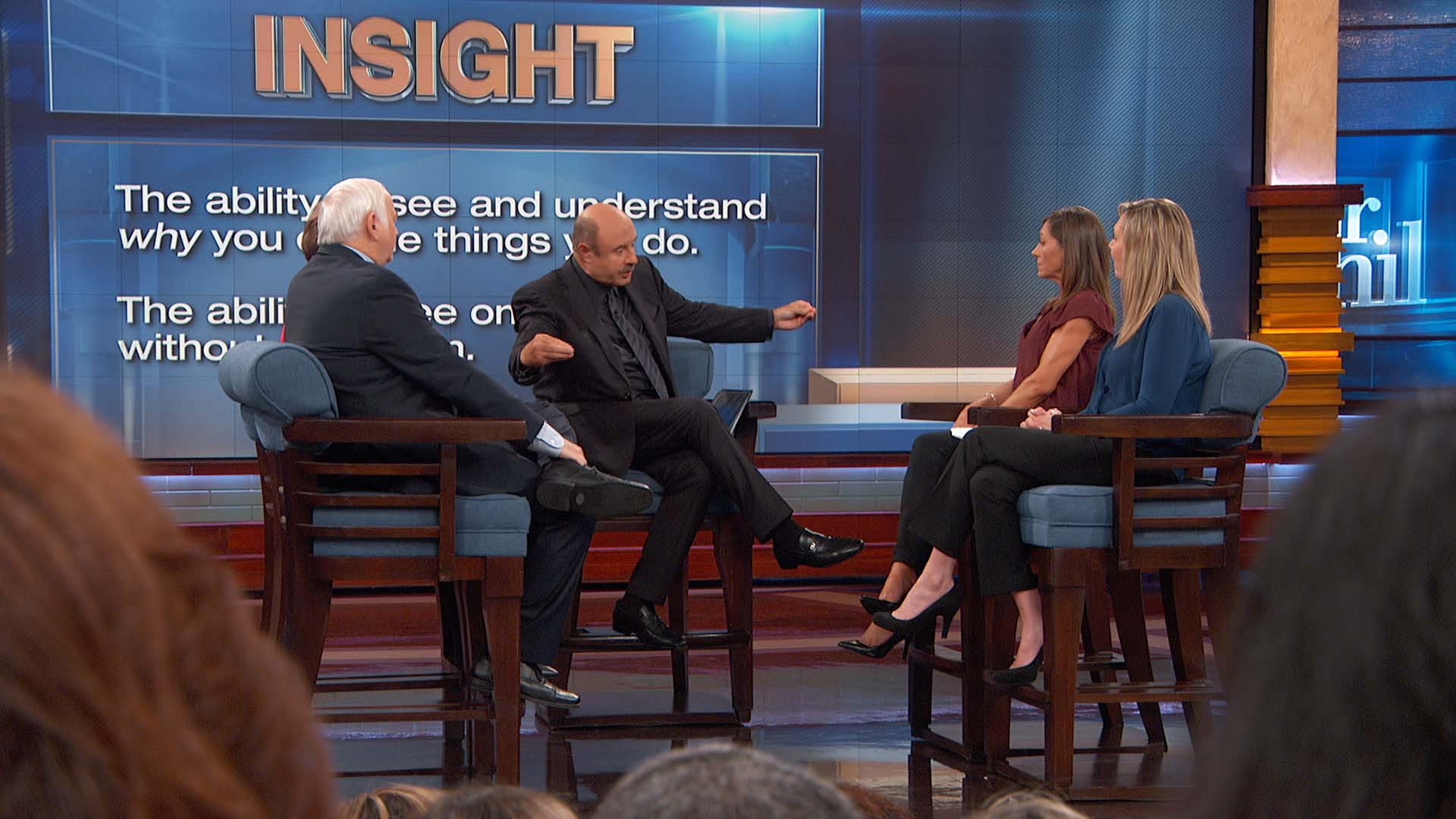 Dr. Phil To Guest: 'What I Want You To Do, Is Recognize That The Only Person You Control Is You'