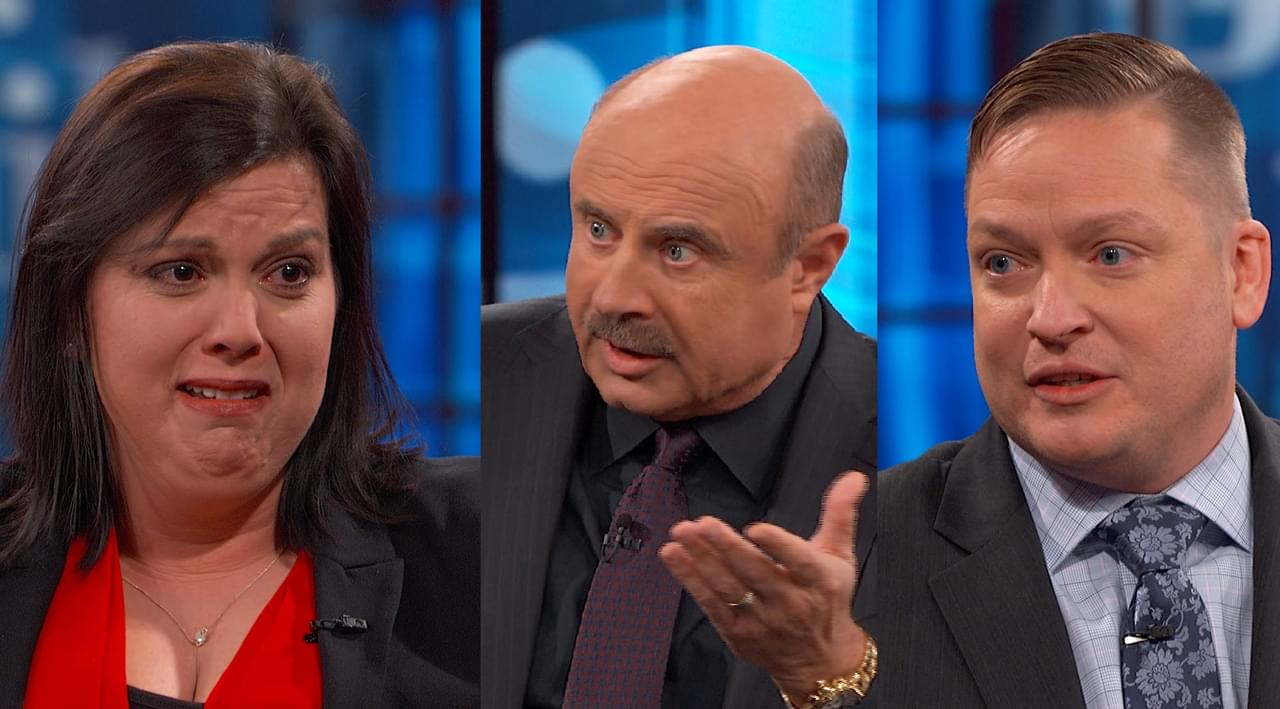 Dr. Phil To Former Couple Battling Over Their Children: 'There's Unfinished Emotional Business Between The Two Of You'