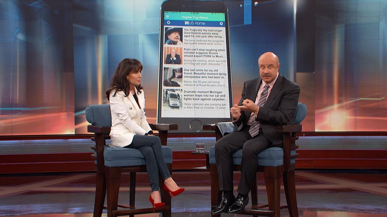 Robin McGraw Shares Passion For Helping Victims Of Domestic Violence