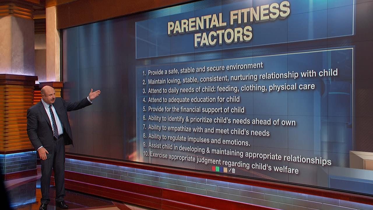 10 Criteria Woman Must Meet To Regain Custody Of Child