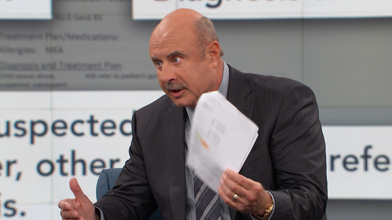 Dr. Phil To Guests: 'This Is A Gross Misrepresentation Of The Facts'