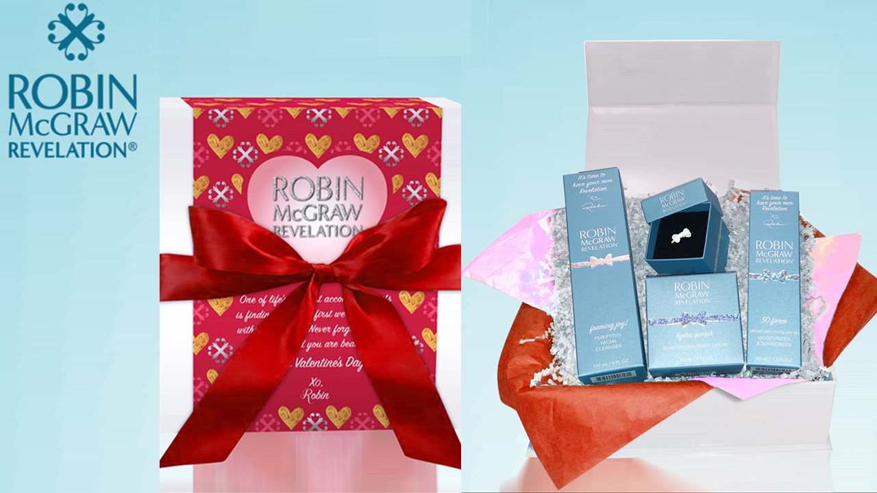 Show Your Skin Some Love With A Robin McGraw Revelation Valentine's Day Gift Box
