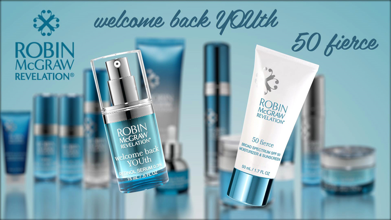 Keep Your Skin Looking Fierce With Robin McGraw Revelation