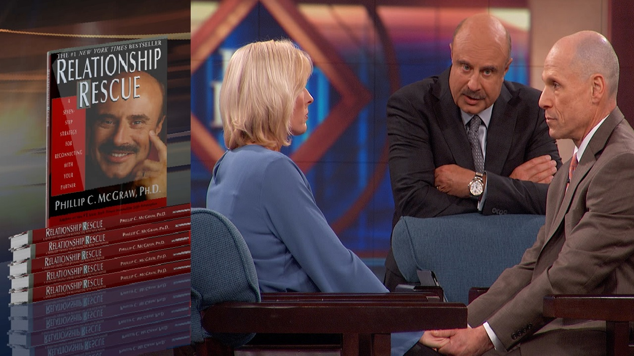 Dr. Phil Leads A Couple In Conflict Through 'Relationship Rescue' Exercise