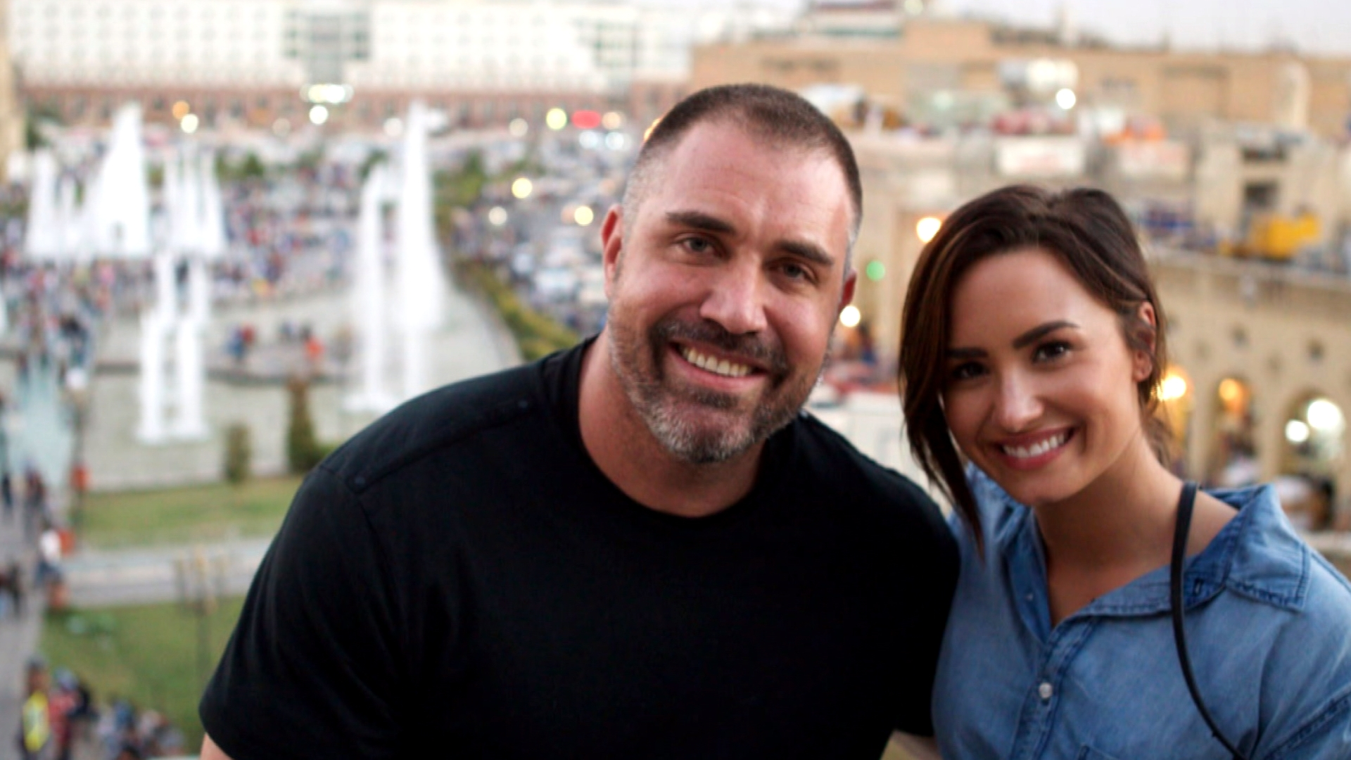 Man Credited With Saving Demi Lovato Says 'She Saved Her Own Life. I Was Just Fortunate To Be A Part Of That Process'