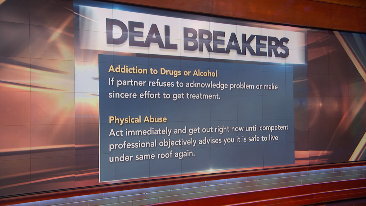Dr. Phil's 'Drop Dead Deal Breakers' And The Risk Factors For Victims Of Domestic Violence
