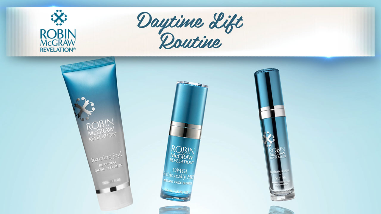 Start Your Day By Focusing On YOU With Robin McGraw Revelation's Daytime Lift Routine