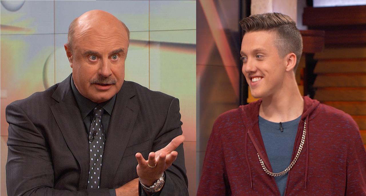 Dr. Phil To Guest: 'Become The Change Agent In Your Own Life'