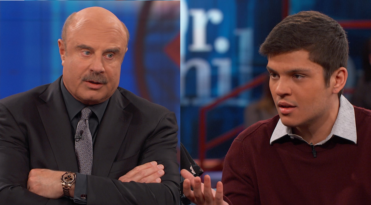 Guest To Dr. Phil: 'None Of Them Understand. None Of Them Have Been An Addict'