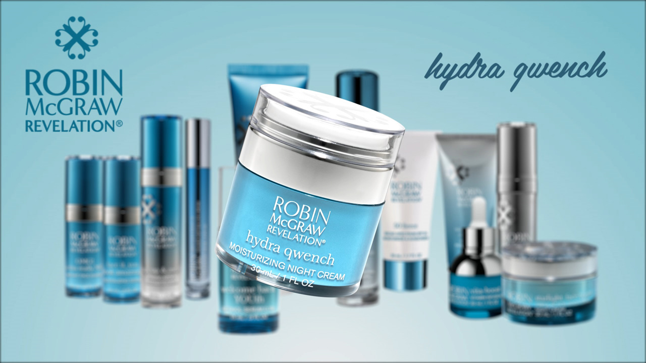 Give The Gift Of Perfectly Moisturized Skin With Hydra Qwench From Robin McGraw Revelation