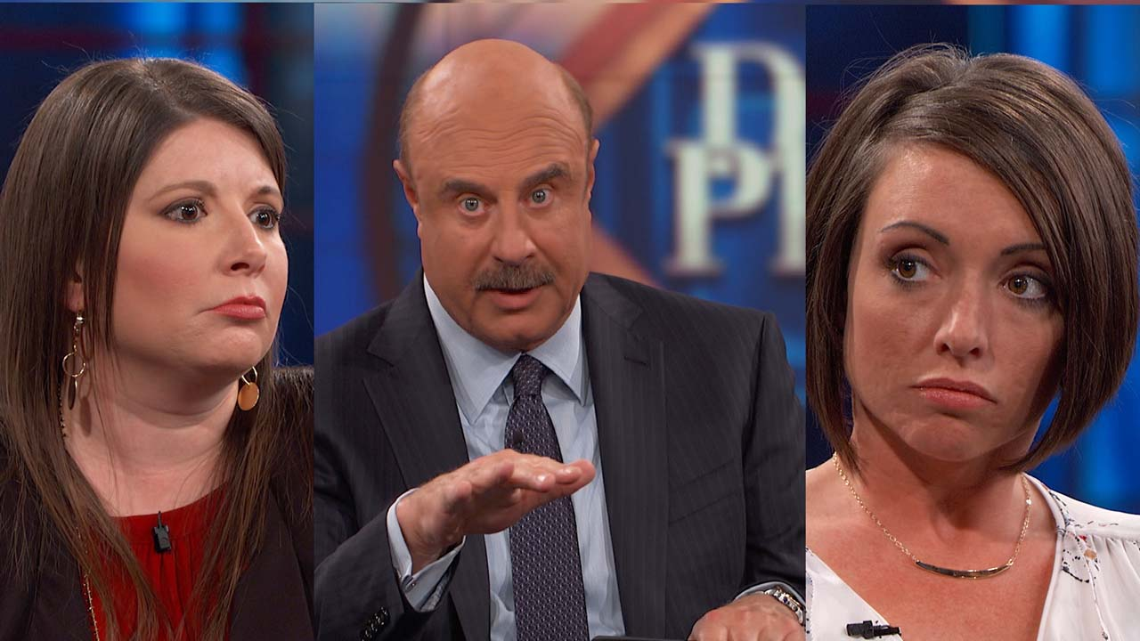 'Stop Hurling Accusations,' Says Dr. Phil To Sisters In A Child Custody Dispute