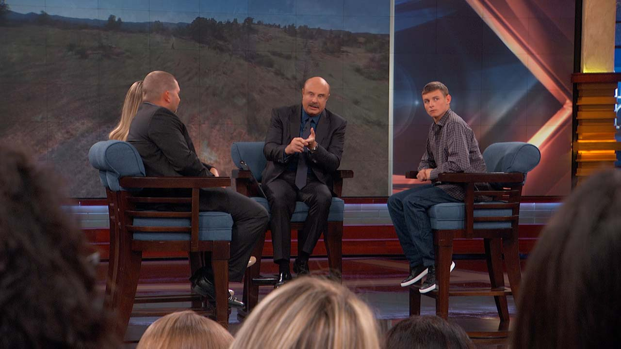 Dr. Phil To Guests: 'It Seems Like You're Trying To Get Other People To Raise Your Son'