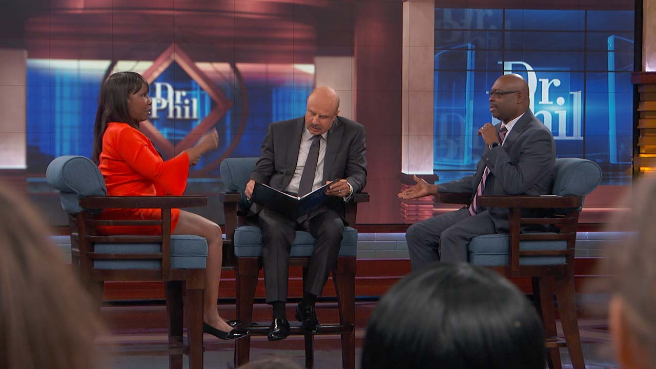 Dr. Phil To Couple: 'Stop Yelling And Start Talking'