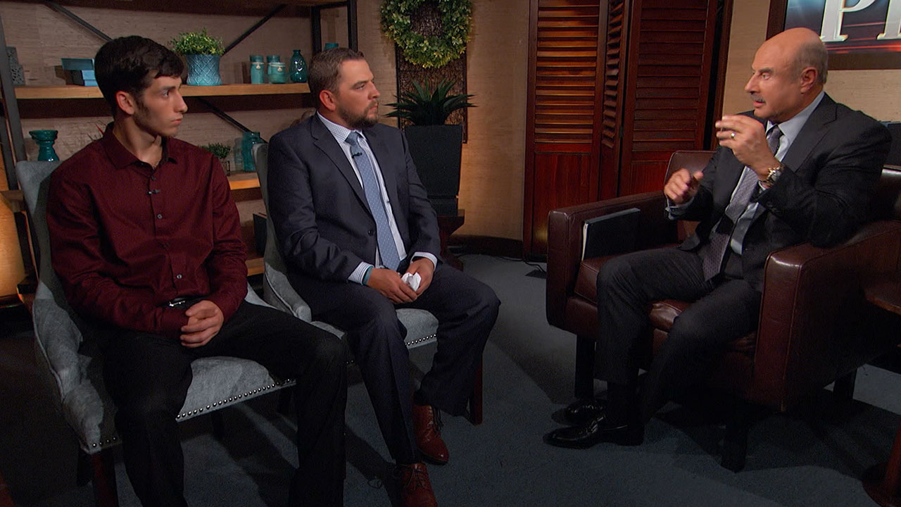 'You Want To Celebrate All Of These Years That You Had Him, Not The One Day That You Lost Him,' Dr Phil Tells Dad Grieving The Loss Of Teen Son