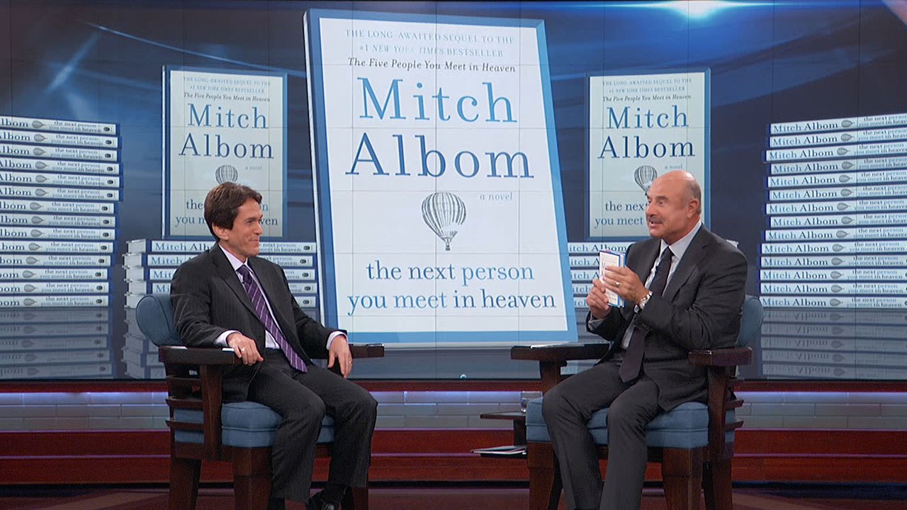 Author Mitch Albom Discusses His New Novel 'The Next Person You Meet In Heaven'