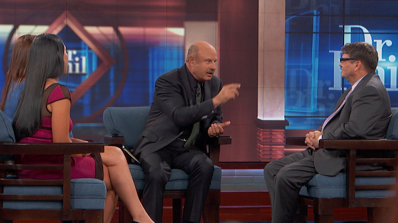 'I Think You Are What's Making It Able For Her To Continue To Kill Herself,' Dr. Phil Tells Guest