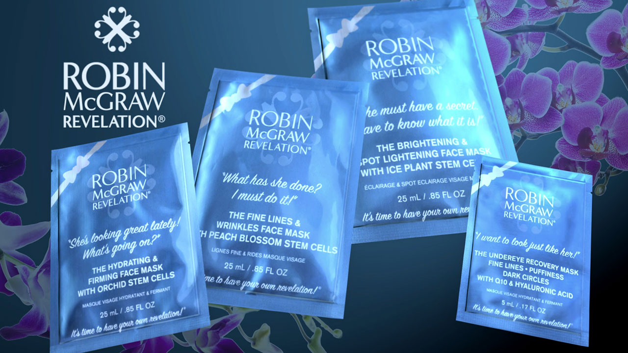 Get Smoother, Firmer And More Radiant Skin With New Sheet Masks From Robin McGraw Revelation