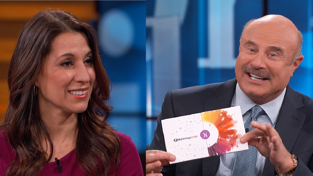 Dr. Phil's Surprise Family Connection Found With  MyHeritage DNA