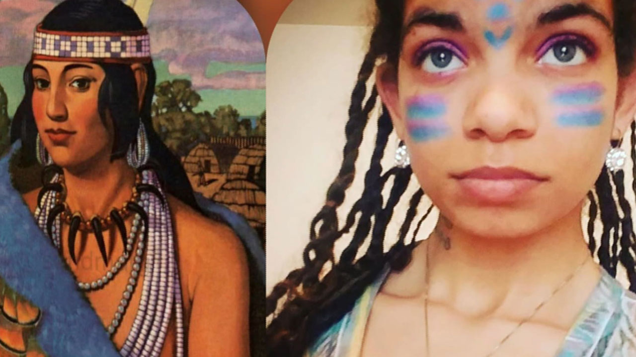 Woman Says She's The Reincarnation Of Pocahontas