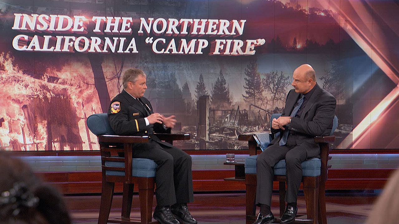 Dr. Phil Praises Work Of First Responders At The Camp Fire, Highlights Paradise, CA Fire Chief David Hawks' Diligence To Keep Residents Alive