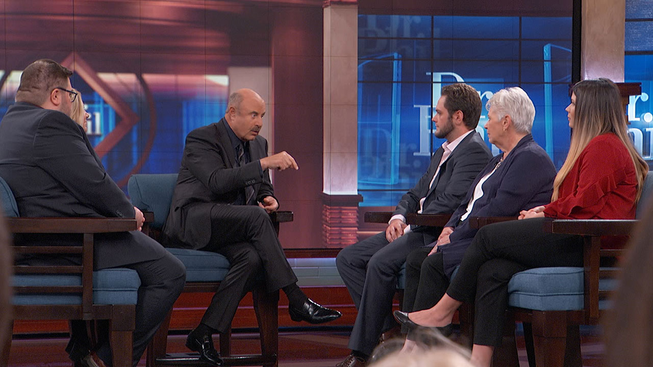 'Your Mother And You Have Defined A Relationship That Is Highly Dysfunctional,' Dr. Phil Tells 25-Year-Old