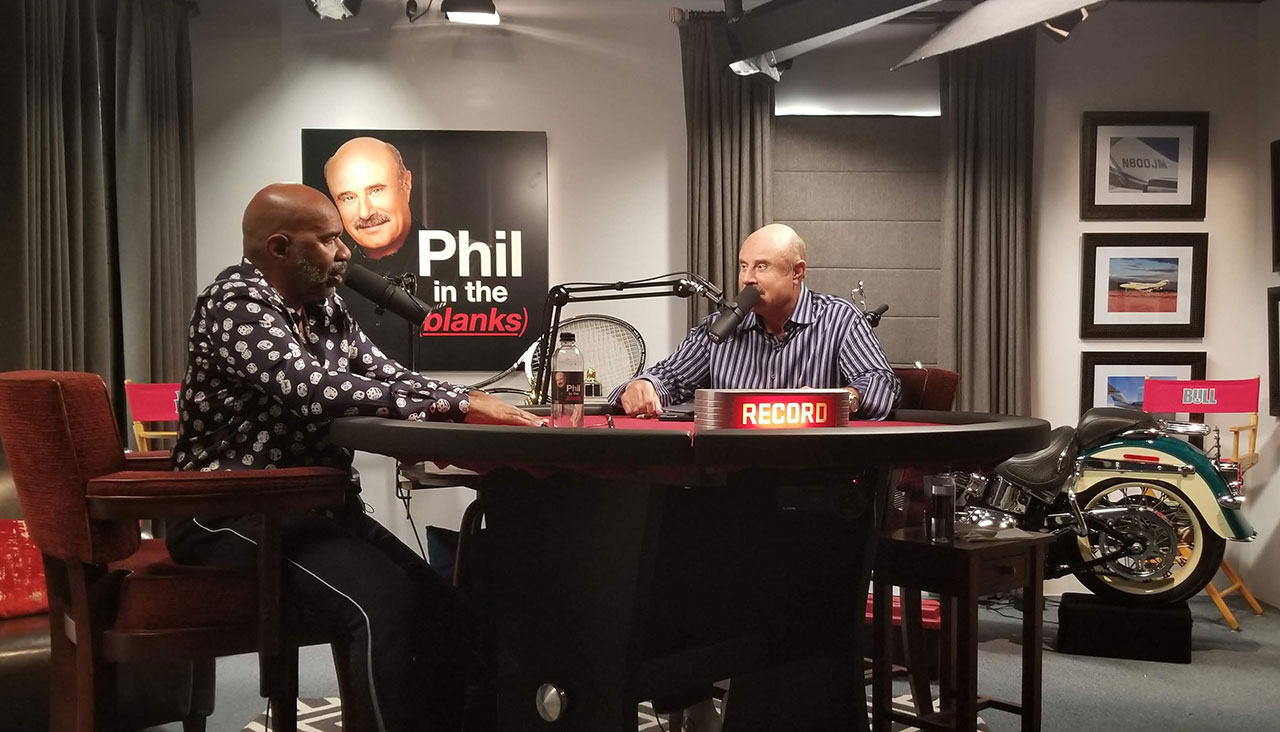 Steve Harvey Gets Candid About Life Before The Fame, The Miss Universe Controversy And More On 'Phil In The Blanks'