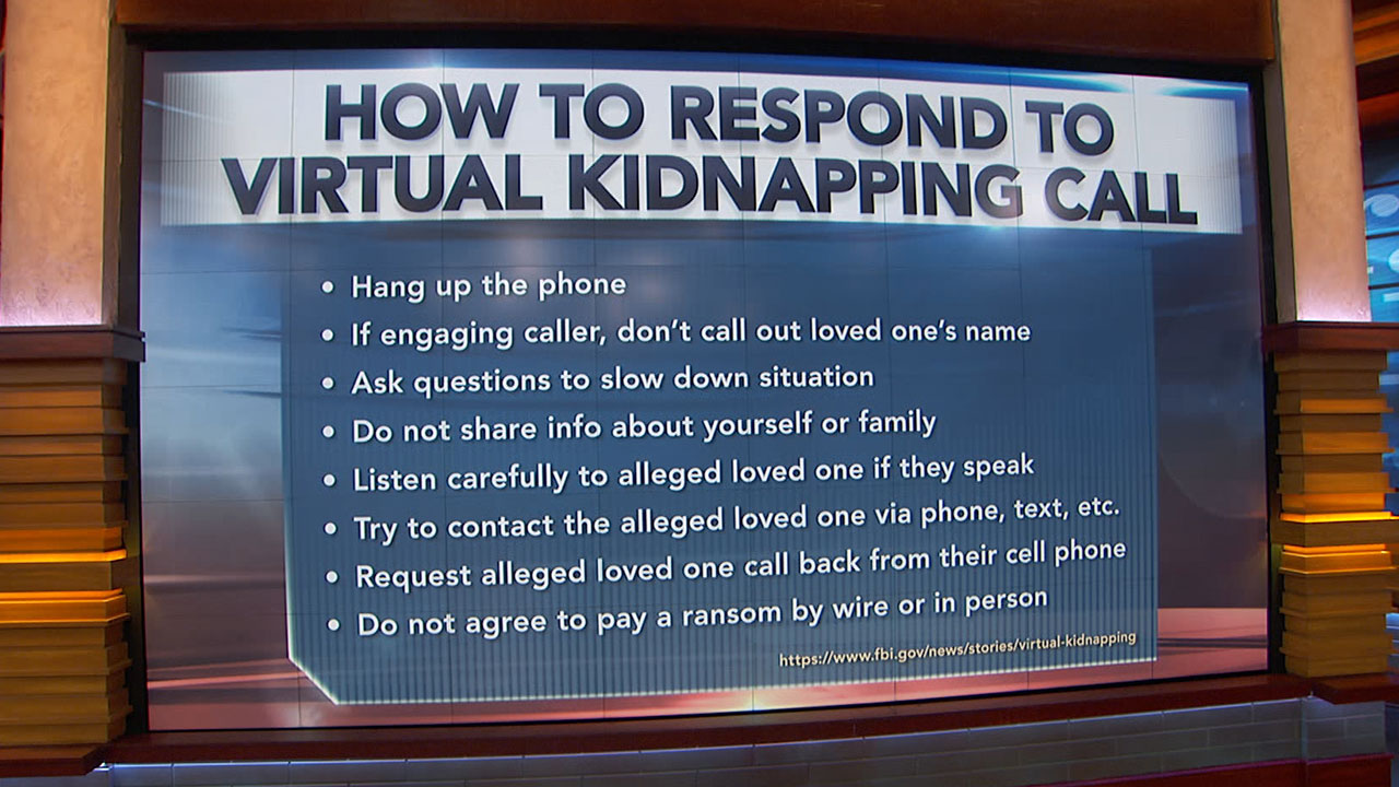 8 Tips For Responding To A 'Virtual Kidnapping' Phone Call
