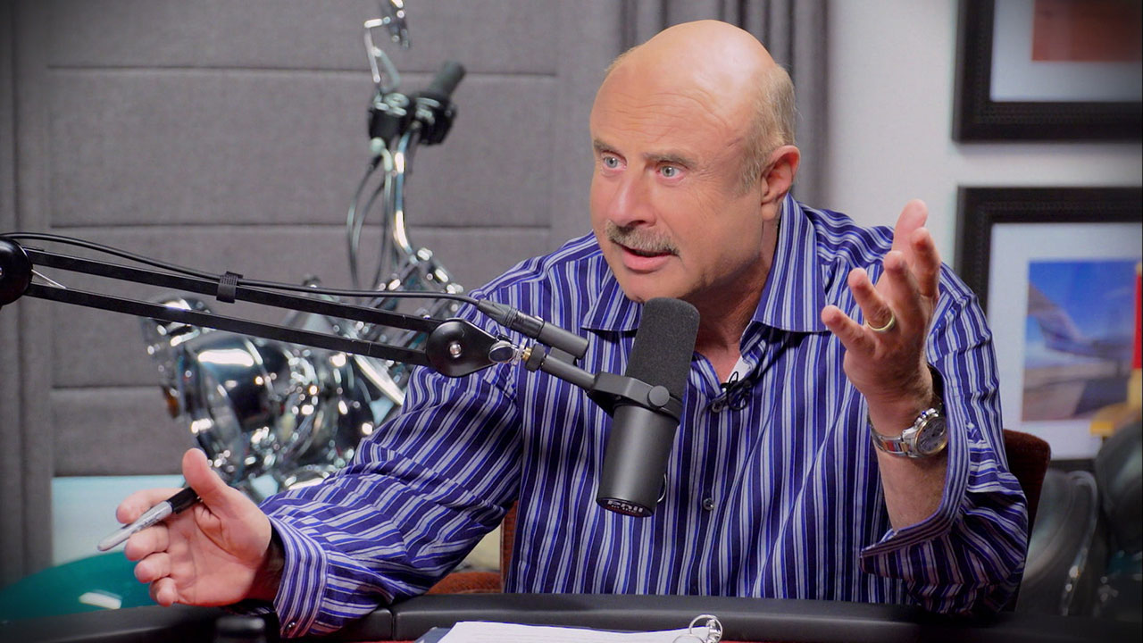 Watch A Sneak Peek Of 'Phil In The Blanks,' Dr. Phil's New Podcast