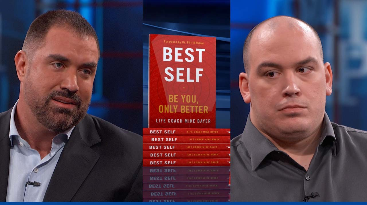 What Life Coach And Author Mike Bayer Tells 'Dr. Phil' Guest About Getting Out Of His Own Way