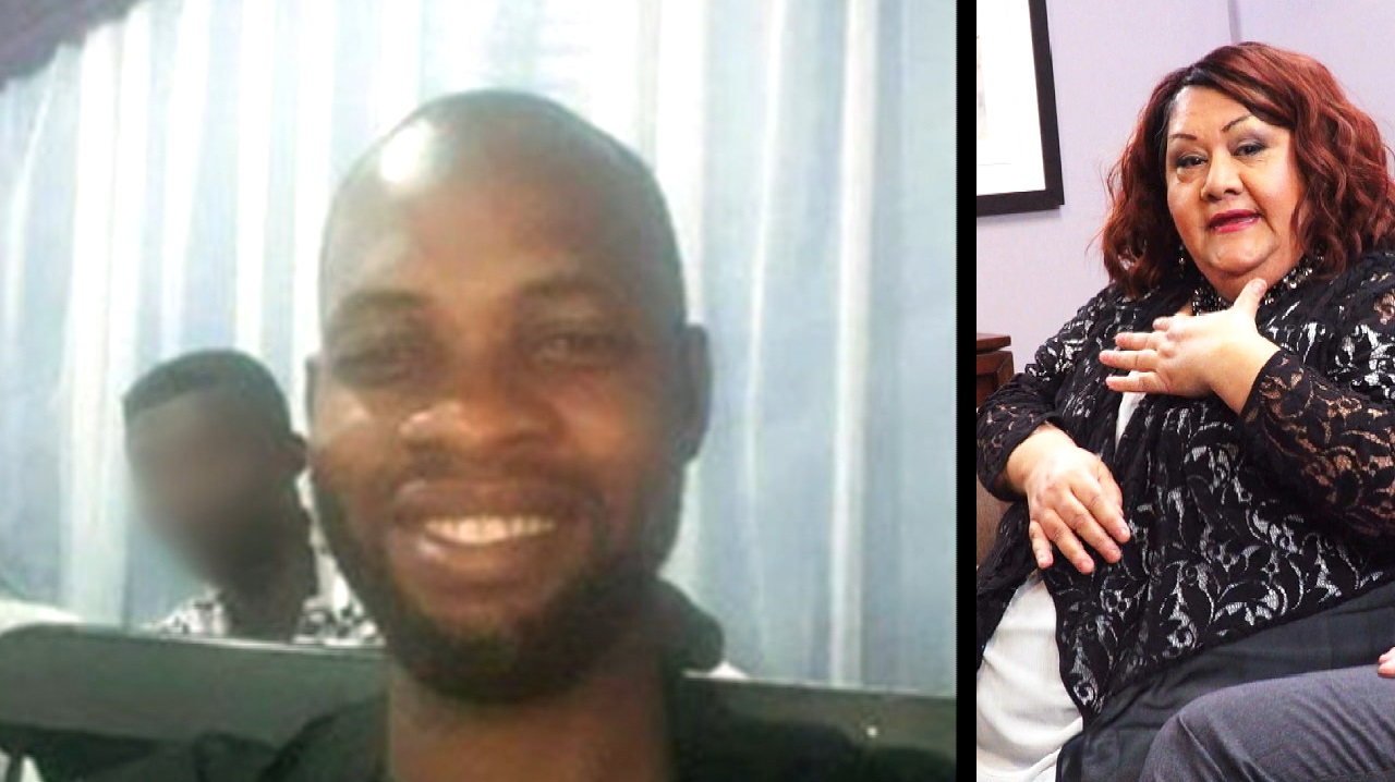 Nigerian Man Declares His Love For American Woman 30 Years His Senior: ' I Want To Make Her Happy'
