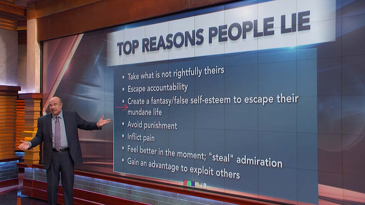 Dr. Phil On Why People Lie