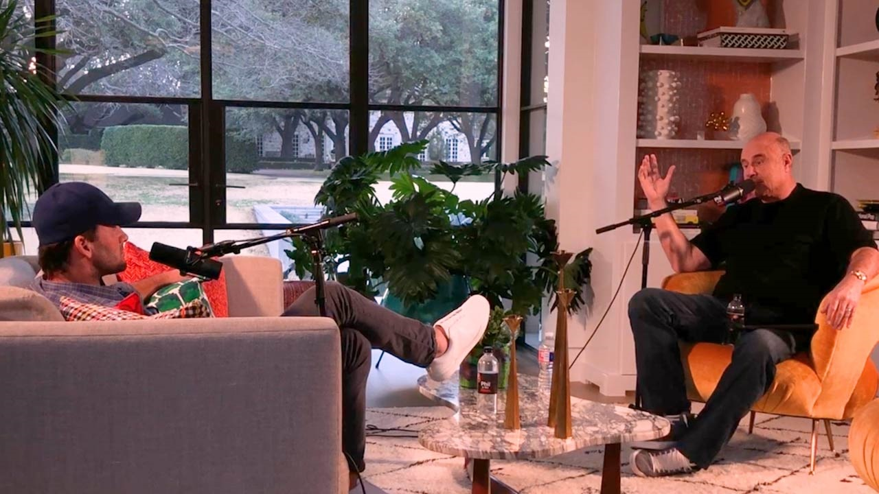 Dr. Phil Talks Sports, Family And More With Former Dallas Cowboys Quarterback Tony Romo On 'Phil In The Blanks'