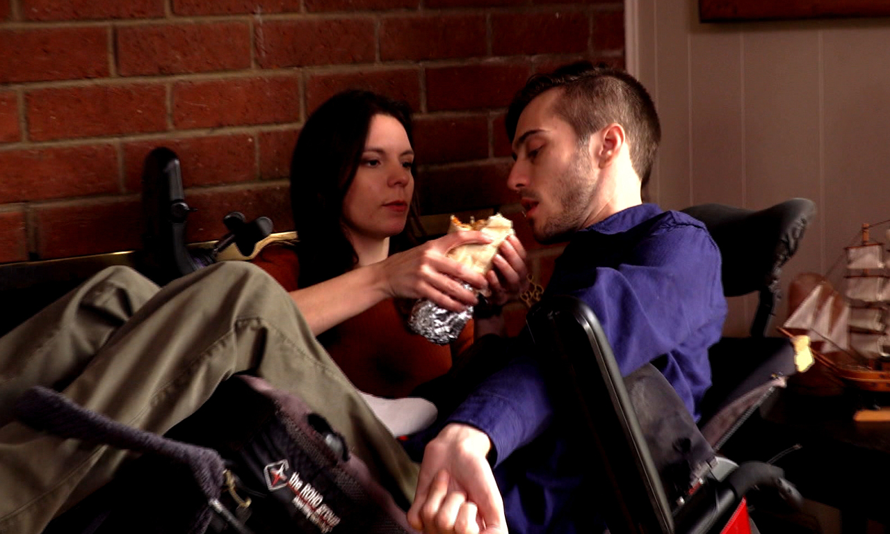 A Day In The Life Of A Young Woman Who Takes Care Of Her Quadriplegic Boyfriend