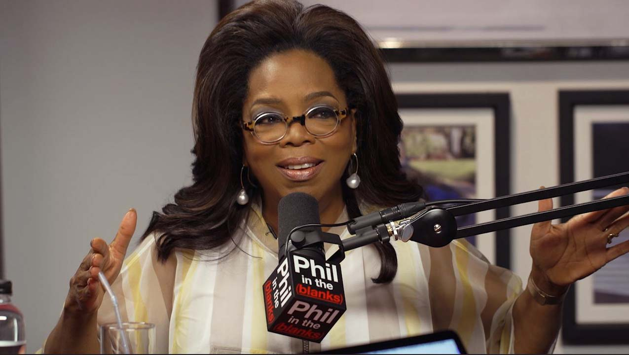 What Oprah Says About Gratitude On The Next 'Phil In The Blanks'